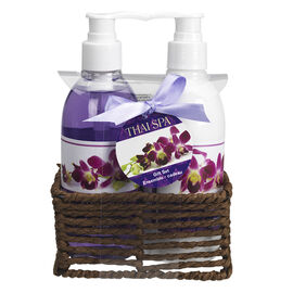 Thai Spa Gift Set Hand Caddy - 2 piece