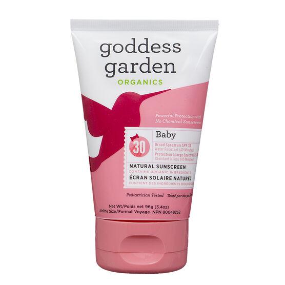Goddess Garden Organics Baby Natural Sunscreen - SPF30 - 100ml