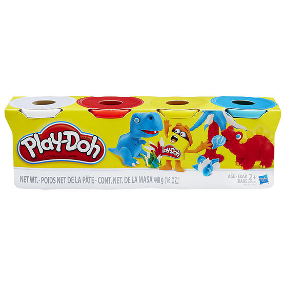 Play-doh Classic Colour Set - 4 Pack