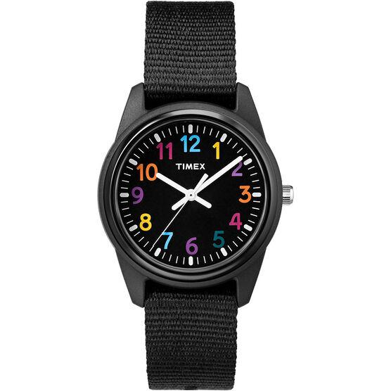 Timex Kids Analogue Watch - Black - TW7C104002Y