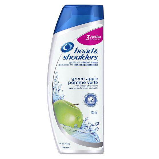 Head & Shoulders Green Apple Shampoo - 700ml