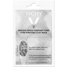 Vichy Sachet Duo Pore Purifying Clay Mask - 2x6ml