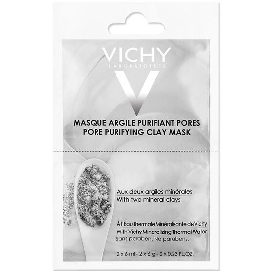 Vichy Sachet Duo Pore Purifying Clay Mask - 2x6ml