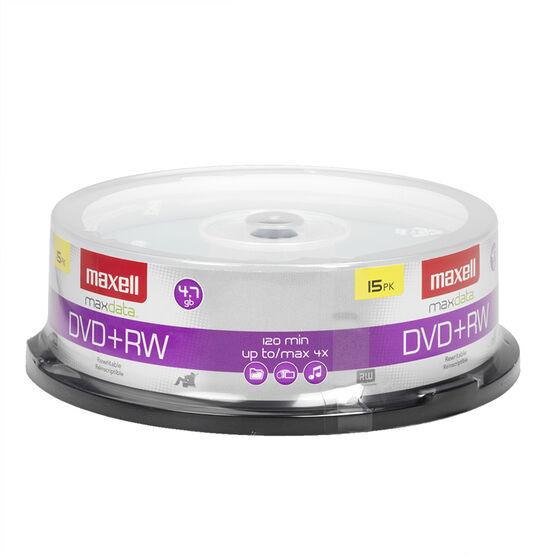 Maxell DVD+RW 15 Spindle - 15- DVD + RW
