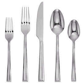 Cambridge Silversmiths Corra Mirror 18/0 Flatware Set - 20 piece