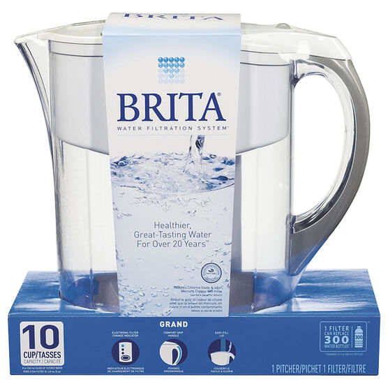 Brita Grand Pitcher - White - 10 cup