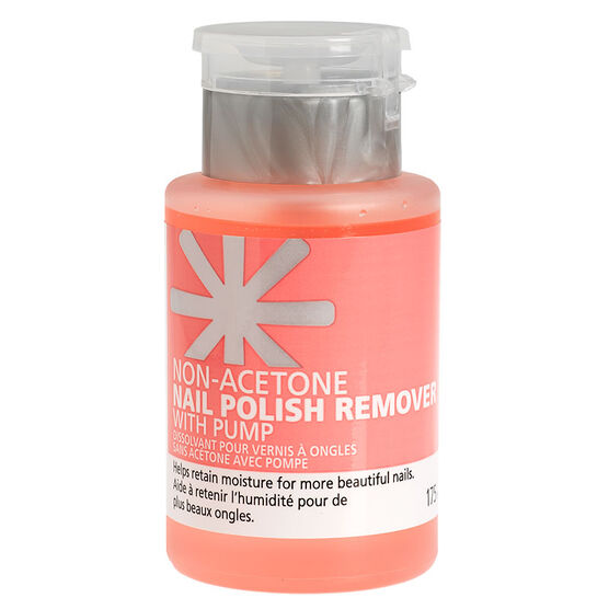 London Look Non-Acetone Nail Polish Remover with Pump - 175ml
