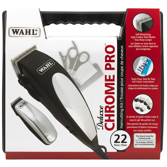 Wahl Deluxe Chrome Pro Kit - 3168