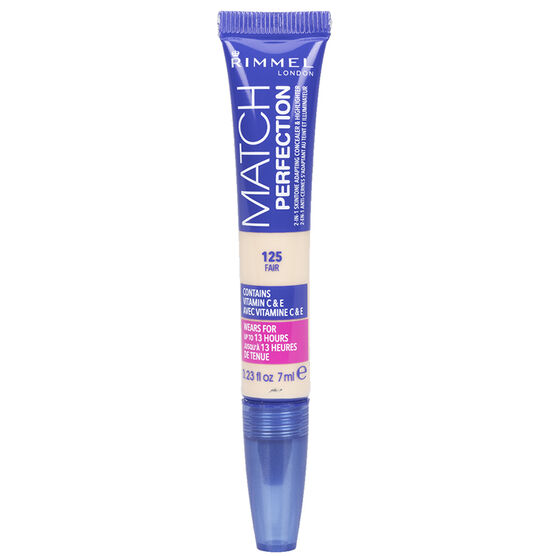 Rimmel Match Perfection Concealer and Highlighter - 125 Fair