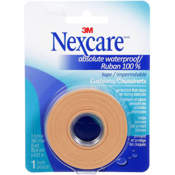 3M Nexcare Absolute Waterproof Tape - 25.4mm x 4.57m