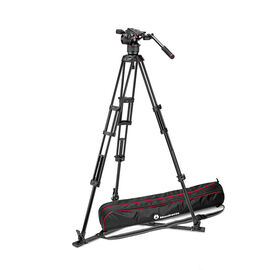 Manfrotto Nitrotech N8 Video Head with Tripod and Case Kit - MVKN8TWING