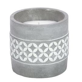 Patio Essentials Citronella Candle Cement Pot - Assorted