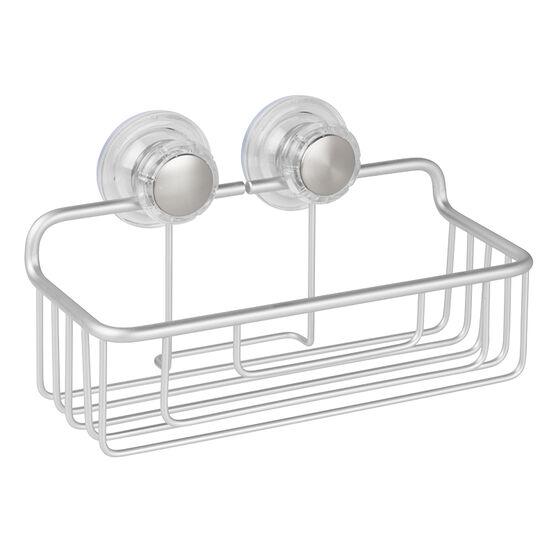 InterDesign Metro Suction Basket - Aluminum