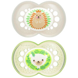 MAM Animals Pacifier - 6+ months - 02604 - Assorted