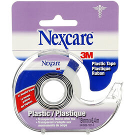 3M Nexcare Flexible Clear Plastic Tape - 3/4inch x 7yards