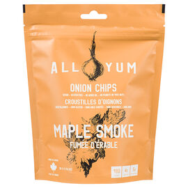 All Yum Onion Chips - Maple Smoke - 50g