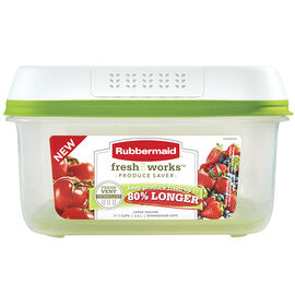 Rubbermaid FreshWorks Produce Saver - 11 cup