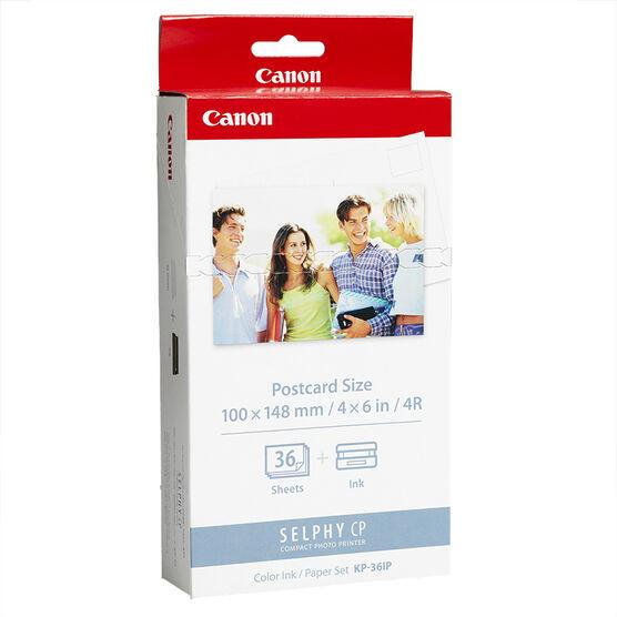 Canon KP-36IP Ink Cartridge & Paper Set - 36 Sheets