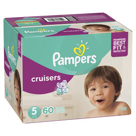 Pampers Cruisers Diapers - Size 5 - 60's