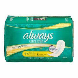 Alway Ultra Thin Maxi Pads - Regular - 44's