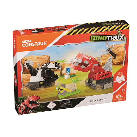 Mega Construx Dinotrux Crater Rumble