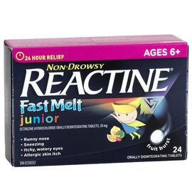 Reactine Allergy Fast Melts Junior - 24's