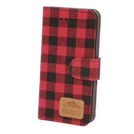 Roots 73 Plaid Folio Case for iPhone 6s/7 - Red/Black - RPLDIP67R
