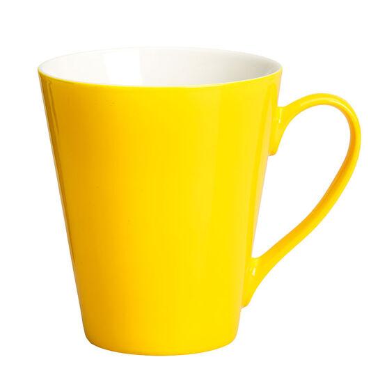 London Drugs Porcelain Glazed Mug - Yellow