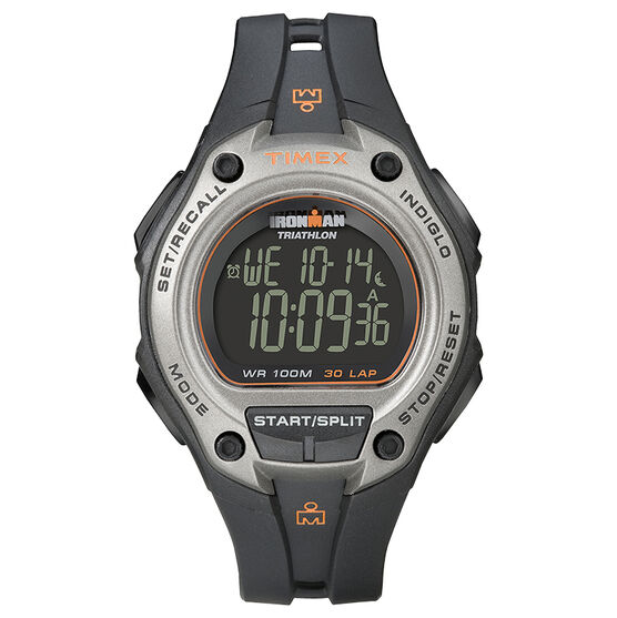 Timex Ironman Triathlon 30 Lap Oversize - Gray/Black - T5K758GP