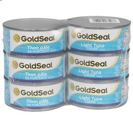 Gold Seal Light Tuna - Chunk in Water - 6 x 170g