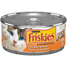 Friskies Wet Cat Food - Pate Chicken Dinner - 156g