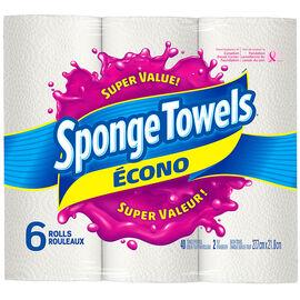 SpongeTowels Econo - 6's