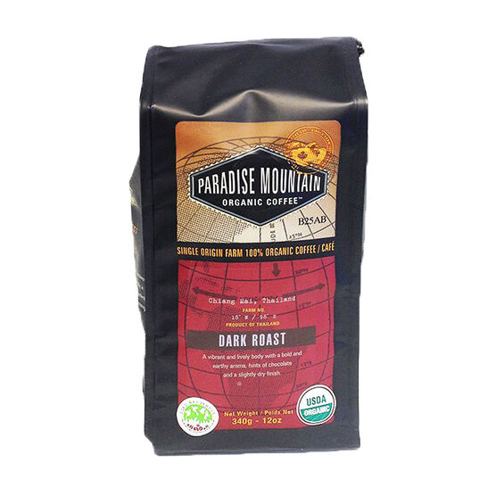 Paradise Mountain Organic Coffee - Dark Roast - 340g