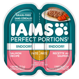 IAMS Perfect Portions Indoor Cat - Salmon - 75g