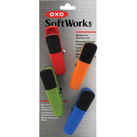 Oxo Softworks Magnetic All Purpose Clip Set - 4 piece