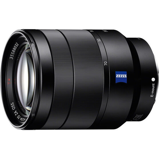 Sony 24-70mm F4 CZ Full Frame E-Mount Lens - SEL2470Z