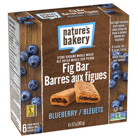 Nature's Bakery Fig Bars - Blueberry - 6 pack