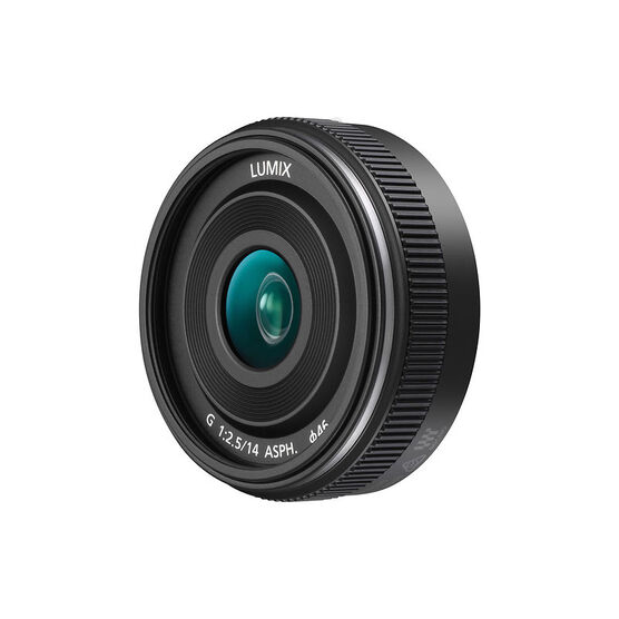 Panasonic LUMIX G 14mm f/2.5 ASPH II Lens - Black - HH014A
