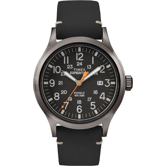 Timex Scout Medal Watch - Black - TW4B01900GP