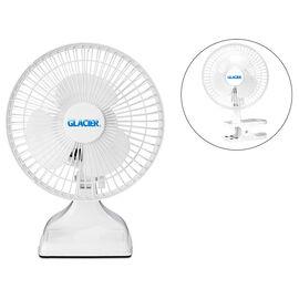 Glacier 2-in-1 Fan - White - 6in