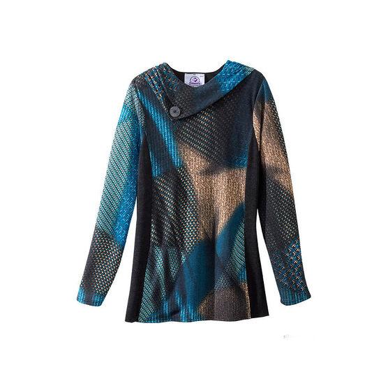 Silvert's Women's Cowl Neck Sweater