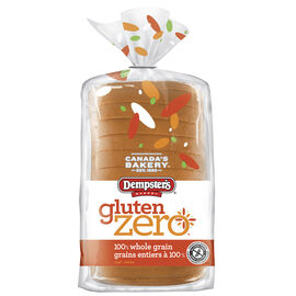 Dempster's Bakery Gluten Zero Bread - 100% Whole Grain - 340g