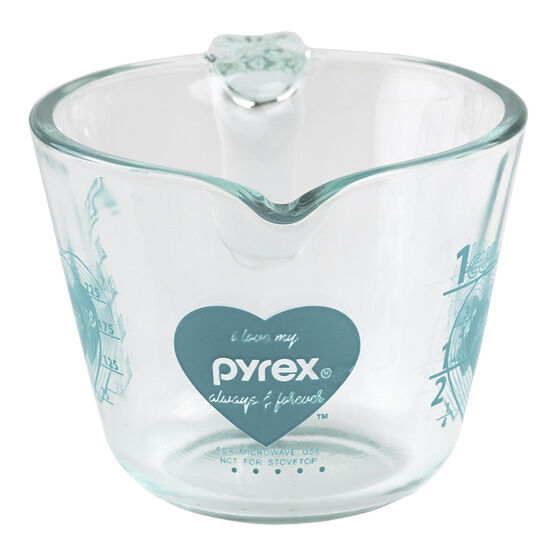 Pyrex Simply Store Measuring Cup - Turquoise - 1 cup