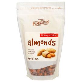 London Plantation Almonds - Hickory Smoke - 250g