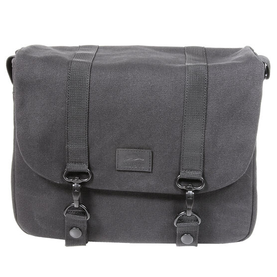 Roots 73 Flannel Collection Large DSLR Messenger Bag - Black - RB25