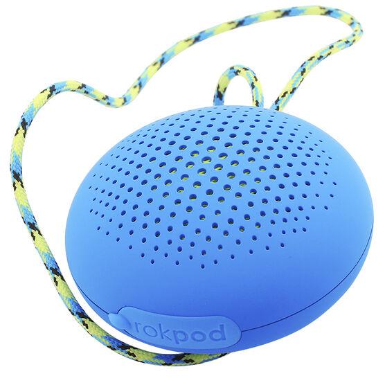 Boompods Rokpod Bluetooth Speaker - Blue - BPROKBLU