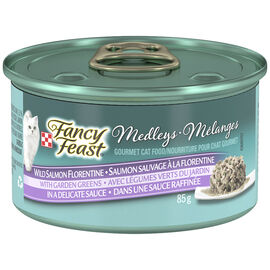 Fancy Feast Medley  for Cats - Wild Salmon Florentine - 85g