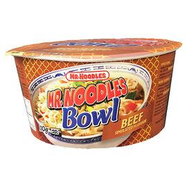 Mr. Noodles Instant Noodle Bowl - Beef - 110g