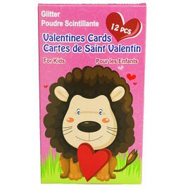 Valentines Boxed Cards for Kids - 12's - Assorted