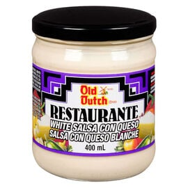 Old Dutch Restaurante White Salsa with Queso - 400ml